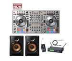 Pioneer DDJSZS DJ Controller with Bulit8 Monitors and Case