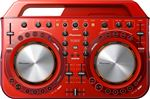Pioneer DDJ WeGO2 DJ Controller in Red - Dent and Scratch
