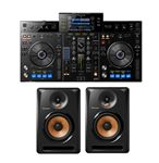 Pioneer XDJRX DJ System with Bulit6 Powered Studio Monitors Pair