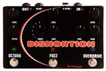 Pigtronix Disnortion Octave Fuzz Overdrive Effects Pedal