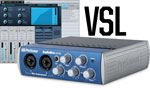 Presonus AudioBox 22VSL USB Interface with Audix VX5 Mic