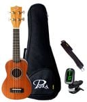 Pukanala PK-PES Peace Soprano Ukulele with Bag
