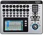 QSC TouchMix16 20 Input 10 Output Compact Touchscreen Digital Mixer With Built In WiFi iPad Control