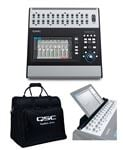 QSC TouchMix 30 Pro 32 Channel Digital Mixer W/ Tote And Tablet Stand