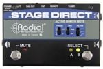 Radial StageDirect Active Direct Box with Mute Footswitch