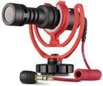 Rode VideoMicro Compact Camera Microphone With Rycote Lyre Shock Mount
