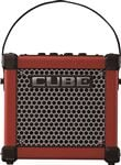 Roland Micro Cube GX Guitar Amplifier in Red