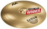 Sabian AA Bash Ride Cymbal 21 Inch Brilliant Finish