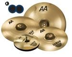 "Sabian AA XCelerator Bash Value Added Cymbal Set Free 18"" Value $219 and KickPort Sonic Enhancement Bass Port"