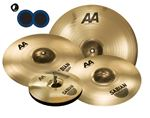 "Sabian AA XCelerator Bash Value Added Cymbal Set Free 18"" Value $99 and KickPort Sonic Enhancement Bass Port"
