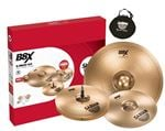 Sabian B8X Performance Set 14 HiHat 18 Crash Ride Free 14 C Cymbal Bag