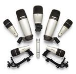 Samson 8Kit 8 Piece Drum Microphone Package