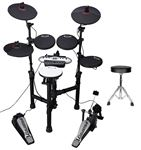 Samson CSD130 Electronic Drum Kit With Drum Throne
