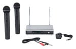 Samson Stage 266 Dual Handheld Wireless System Ch 3/21