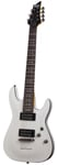 Schecter Omen 7 7 String Electric Guitar Vintage White