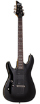 Schecter Omen 6 Active Left Handed Electric Guitar Black