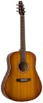 Seagull Entourage Rustic Dreadnought Acoustic Guitar Rustic Burst