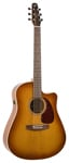 Seagull Entourage Rustic Dreadnought Acoustic Electric Guitar