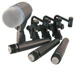 Shure DMK5752 Drum Microphone Package