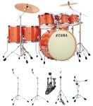 Tama Superstar Classic CK72S 7 Piece With Hardware Orange Sparkle