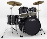 Tama Imperialstar 5 Piece Drum Set with Meinl Cymbals Black