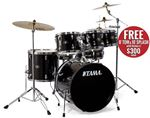 Tama Imperialstar Accel Driver 5 Piece Set with Meinl Cymbals