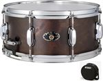 Tama Artwood 65x14 Maple/Birch Snare Worn Brown With Bag
