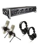 Tascam TRACKPACK 4x4 Complete Acoustic Instrument Recording Studio