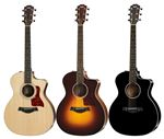 Taylor 214ce Deluxe ES2 Grand Auditorium A/E Guitar with Case