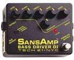 Tech 21 SansAmp Bass Driver DI Active Direct Box