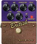 Tech 21 SansAmp Character Series British V2 Guitar Pedal