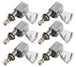 Tronical 3x3 Electric Guitar Tulip Tuners - Chrome