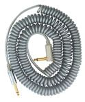 Vox VCC Vintage Coiled Right Angle Guitar Instrument Cable