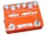 Wampler Brent Mason Hot Wired Overdrive Distortion Effects Pedal