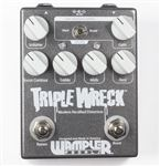 Wampler Triple Wreck High Gain Distortion Guitar Effects Pedal