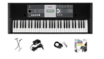 Yamaha YPT230 61 Key Portable Personal Keyboard Package
