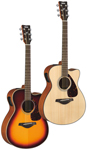 Yamaha FSX700SC Acoustic Electric Guitar