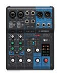 Yamaha MG06X 6 Channel Stereo Mixer with Effects