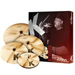 "Zildjian K Custom Dark Value Added Cymbal Set Free 18"" Value $319.95"