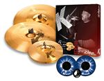 Zildjian K Custom Hybrid Value Added Cymbal Set With KickPort