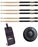 Zildjian 5A Black Dip Drum Stick Package