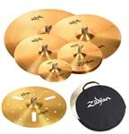 Zildjian ZBT P101 Rock Set with Free Splash, Crash and Special Effects