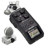 Zoom H6 6 Track Portable Digital Recorder -Used