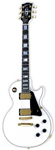 Gibson Les Paul Custom Electric Guitar Alpine White with Case