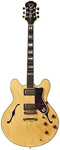 Epiphone Sheraton II Archtop Electric Guitar Natural with Case