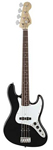 Squier Affinity Jazz Bass Rosewood Fingerboard Black