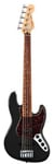 Fender Deluxe Active Jazz V 5 String Bass Black with Gig Bag