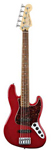 Fender Deluxe Active Jazz V 5 String Bass Guitar with Gig Bag