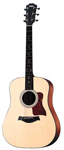 Taylor 110E Acoustic Electric Guitar with Gig Bag