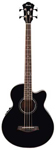 Ibanez AEB10E Acoustic Electric Bass Guitar Black